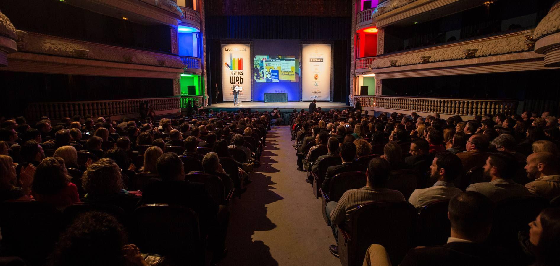 VI Premios Web Alicante.Fuente:La Verdad.FOTO ALEX DOMINGUEZ