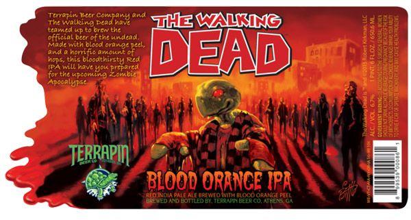 Cerveza oficial de The Walking Dead