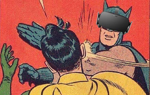 Bofetadas de realidad… virtual
